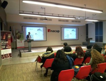 Jornada de presentación de empresas colaboradoras de INACAP