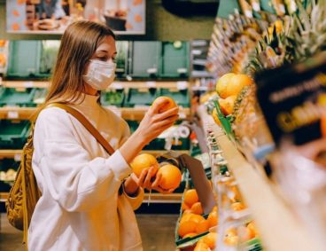 Análisis de calcio en frutas