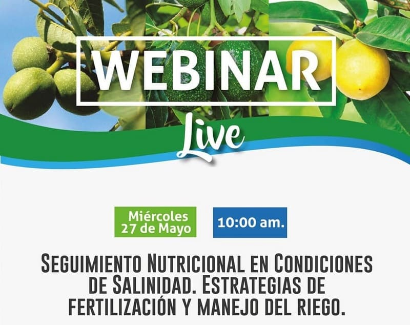 Ciclo de webinars agrícolas gratuitos