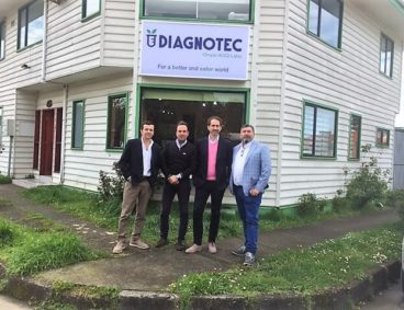 Presidente de AGQ Labs visita Diagnotec