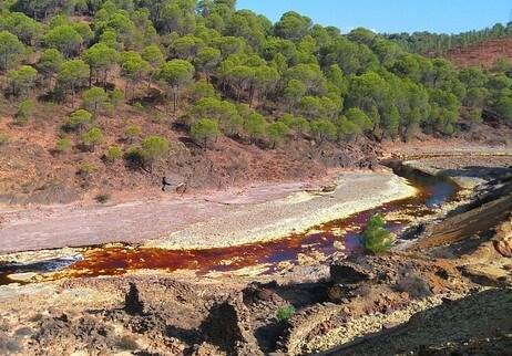 Drenaje Acido de Roca Mineria Chile