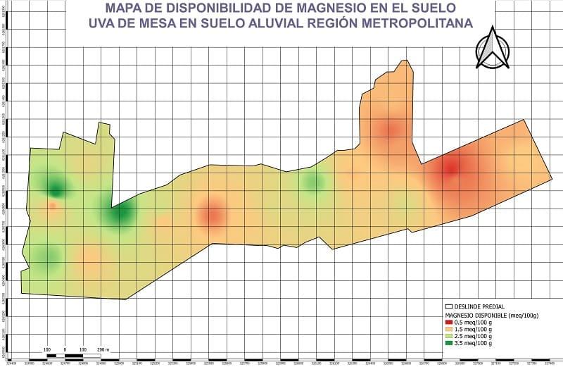 Mapas y fertilidad de suelos agricolas