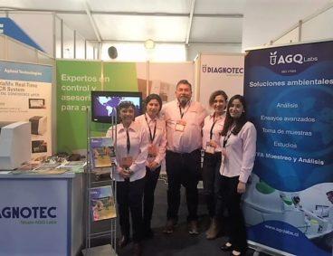 Diagnotec y AGQ Labs en feria acuícola AquaSur 2018
