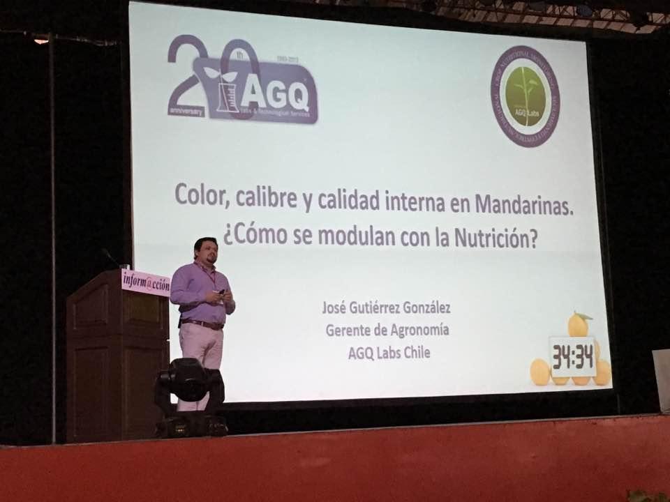 AGQ Labs Chile en Simposio Internacional del Agro en Perú