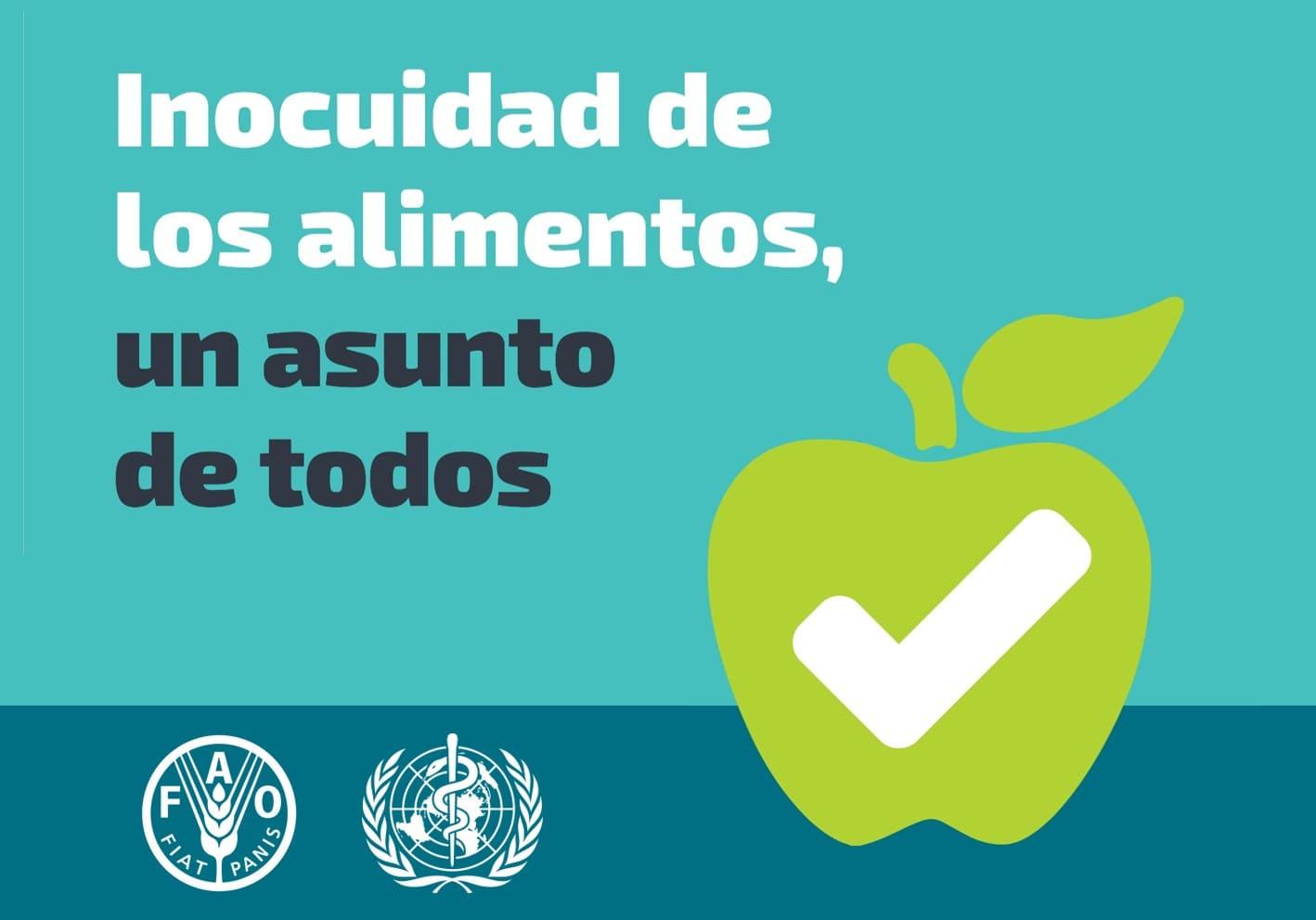 dia mundial de la inocuidad de los alimentos