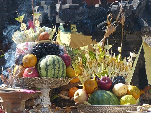 Exportación a Indonesia de fruta fresca